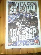 Programm FC St.Pauli - FC Ingolstadt  14/15