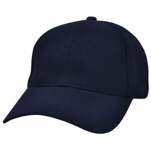 One Quality PQ Mesh Fitted Cap Baseball Hat Navy Free Shipping