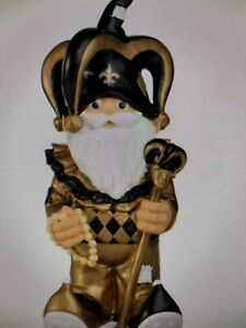 """New Orleans Saints NFL 3.5"""" Gnome Team Ornament, New In Package"""