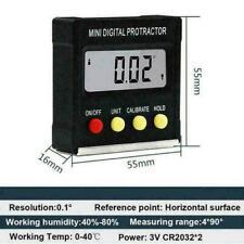 Cube Angle Inclinometer Gauge Meter Digital LCD WinkelmesserElectronic Leve