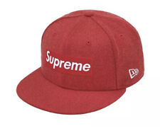 Supreme World Famous Box Logo New Era (Red) 7 3/8 Order Confirmed*