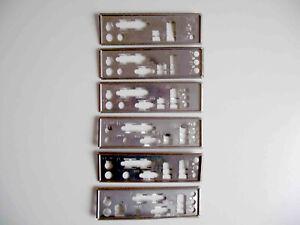 I/O Shield Back Plate 1 SPDIF + Right 3 Vertical Sound Ports