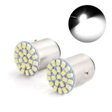2x White 1157 BAY15D 22 SMD LED Light Bulb Tail Break Stop Turn Signal light 12V
