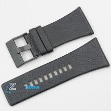 Original DIESEL Replacement Watch Strap DZ1404 BLACK Genuine Leather 36mm
