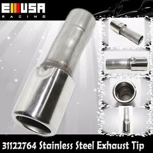 1Piece Stainless Steel Exhaust Tip for Peugeot-Citroën 00-09 206/14-15 208 208GT
