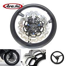 Front Wheel Rim & Front Brake Discs Suzuki GSXR600/750 2008-2013 GSXR1000 09-13