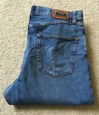Mens Hugo Boss Alabama straight leg light blue denim jeans W 34 L 32