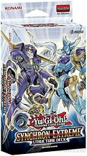 Yugioh Card Game SYNCHRON EXTREME English 1st Edition Structure Deck-44 Cards