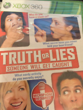 XBOX 360 Truth or Lies Brand New Sealed