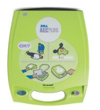Zoll AED Plus Defibrillator with Sealed Pads, New Batteries, and 3 Year Warranty