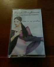 "SARAH BRIGHTMAN ""Time to Say Goodbye"" 1996 Angel Cassette Tape Tested"