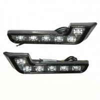 6 LED Daytime Running Fog Lights DRL Light For Citroen C2 C3 C4 C5 C6 C8 Nemo