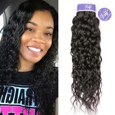 Peruvian Virgin Human Hair Weave Water Wave Weft Hair Extensions 100g 1 Bundles