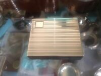 Birks Sterling Silver Cigarette Box 4.4 Ozt Excellent Condition