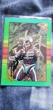 Robert Axlerod Signed Trading Card inc COA! Voice Actor! Zedd! Power Rangers