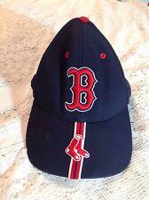 VINTAGE MLB BOSTON RED SOX HAT ONE SIZE BLUE BASEBALL CAP TWINS ENTERPISE