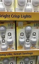 50 Cases Bulk UL Listed A19 9W LED Bulbs Wholesale Lumen 806 Day Light 4000k