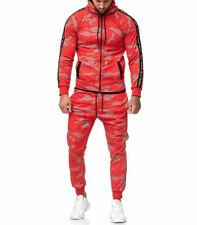 Survêtement homme camouflage Survêt 1011 rouge