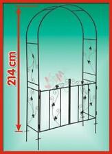 Arche de Jardin en métal avec portillon D31232