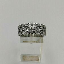 9ct White Gold Hallmarked 33pt Diamond Eternity Ring.  Goldmine Jewellers.