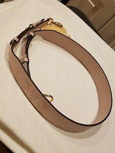 Michael Kors Love Studded Leather Handbag Shoulder Strap NWT $98 Pink