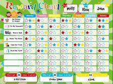 Magnetic Reward Chart Chores Good Behavior Children toddler Play Home School