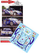 DECALS 1/32 REF 536 RENAULT MEGANE MAXI KIT CAR JORDAN RALLYE ANTIBES 2000 RALLY