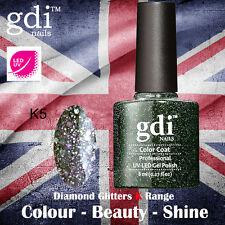 UK SELLER Gdi Nails Diamond Glitters K05 UV/LED Gel Soak Off nail polish