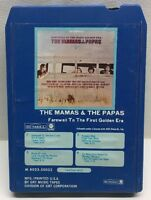 The Mamas & The Papas Farewell To The First Golden Era 8 Track Tape M 8023-50025