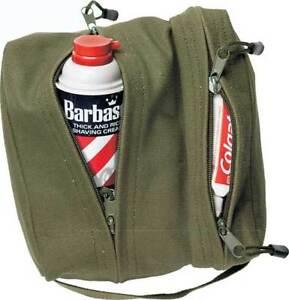 Canvas Dopp Travel Toiletry Bag Dual Organizer Portable Carry Case Shaving Pouch