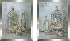 Highland Dunes 'Amenities I' 2 Piece Framed Acrylic Painting Print Set