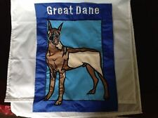 Nylon Decorative Flag Great Dane 13 x 18 Applique
