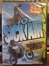 Sick Air (DVD, 2006), NEW, Extreme Motocross, BMX, Skateboard, Snowboard, Surfin