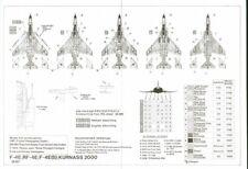 HI Decal 1/48 McDonnell F-4E/RF-4E/F-4E.S Kurnass 2000 Phantom Israeli # 48007