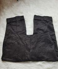 Escada Sport Women's Pant Brown Capri Linen/Silk 42/12-D38
