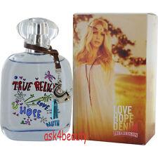 True Religion Love Hope Denim Edp Spray 3.3/3.4oz/100ml For Women New In Box