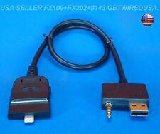 iPHONE  6 6 Plus 5 5c 5s AUX INPUT CABLE 3.5MM USB . HYUNDAI 96125-2L000