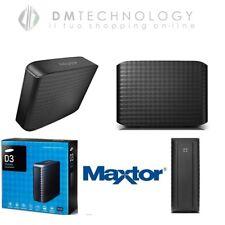 HARD DISK ESTERNO 3,5 5TB MAXTOR D3 STATION USB 3.0 SATA 5000GB STSHX-D501TDB/GM