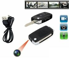 Mini Chiave Auto Telecamera Registra Video Audio Micro Sd Spy Cam Usb Spia cir