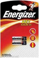 1 x 2 Stück Energizer A27 V27A L828 MN27 GP27A 12V Batterie Alkanie