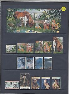 """1996 AUSTRALIA """"THE COMPLETE COLLECTION OF 1996 STAMPS""""  FULL SET MNH"""