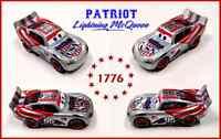 DISNEY PIXAR CARS 3 CUSTOM Lightning McQueen (PATRIOT Lightning McQueen) NEW
