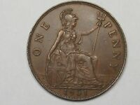 XF 1931 Great Britain Penny.  #8