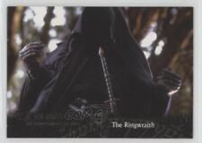 2001 Topps Lord of the Rings: Fellowship Ring #34 The Ringwraith Card 2k3