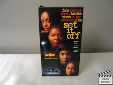 Set It Off (VHS, 1997) Vivica A. Fox Jada Pikett Queen Latifah Kimberly Elise