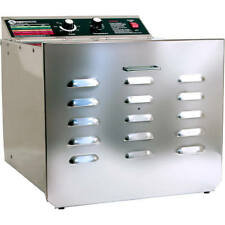 """THE SAUSAGE MAKER D-10 FOOD DEHYDRATOR WITH 1/4"""" STAINLESS STEEL SHELVES 32609"""