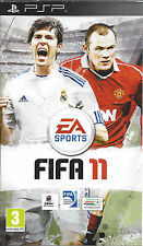 FIFA 11 for PSP - with box and manual