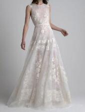 Sachin and Babi Margot Wedding Dress Ivory Embroidered Silk Sleeveless Aline 10