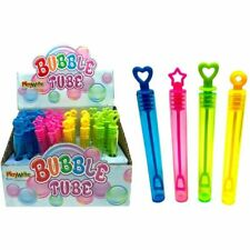 Childrens Kids Girls Boys Bubble Tubes Party Bag Fillers Wedding Favours