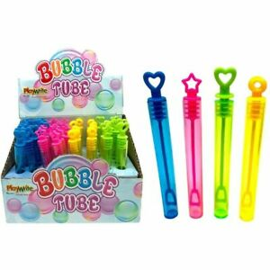 Bubble Tubes Party Bag Fillers Tubs Wedding Favours Childrens Kids Girls Boys